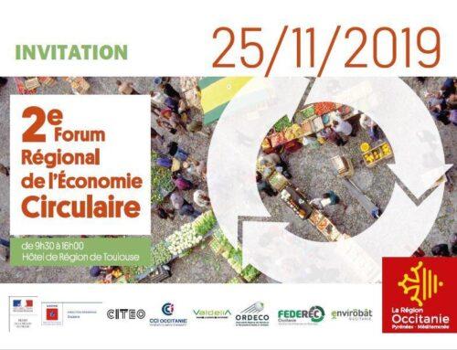 Cambioscop à la deuxième édition du Forum Economie Circulaire de la Région Occitanie